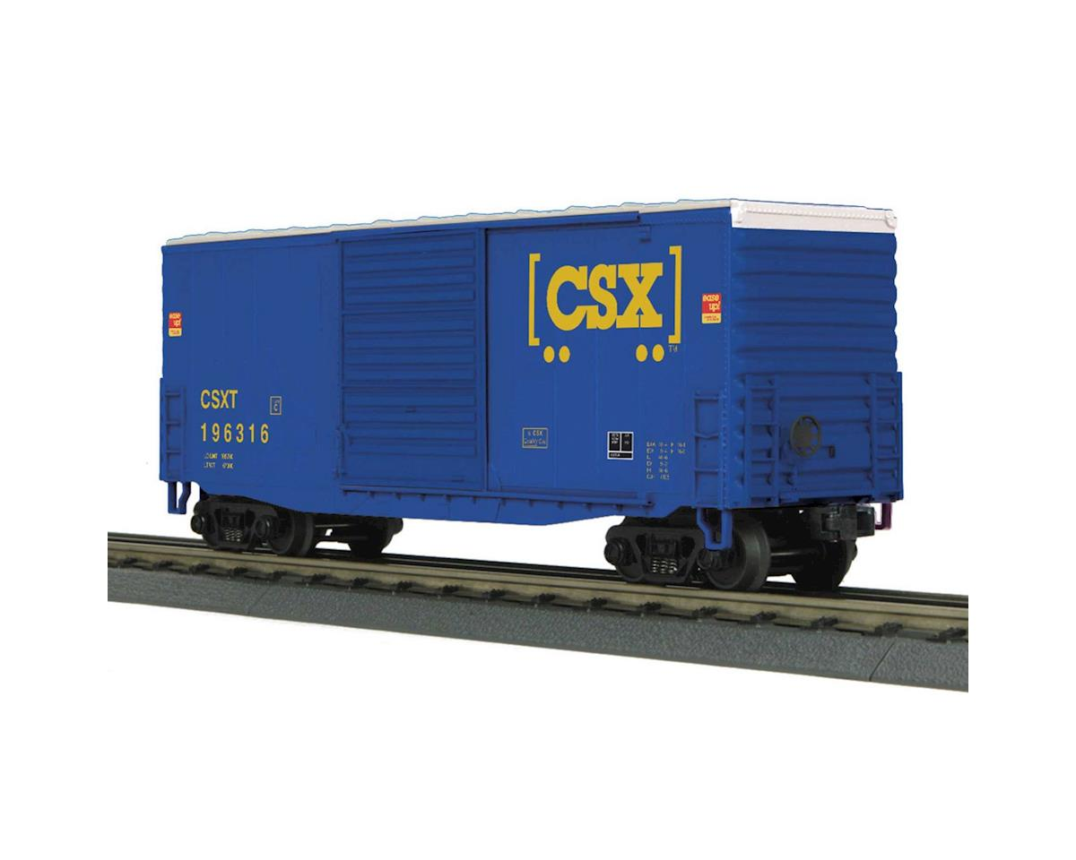 MTH Trains O-27 40' High Cube Box, CSX