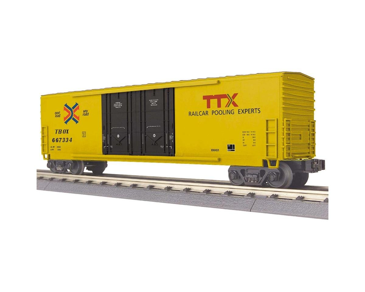 MTH Trains O-27 50' Double Door Plugged Box, TTX