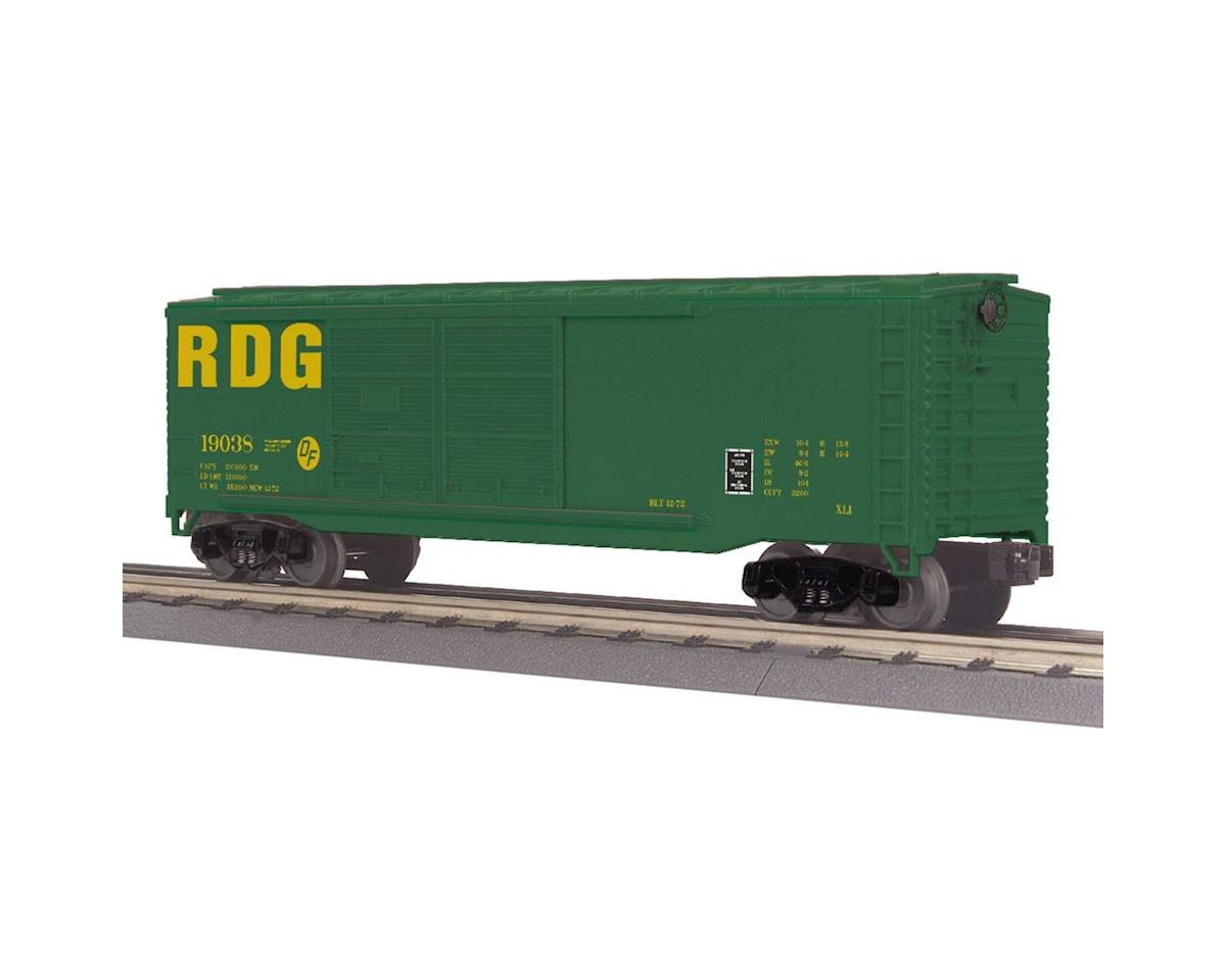 O-27 40' Double Door Box, RDG by MTH Trains