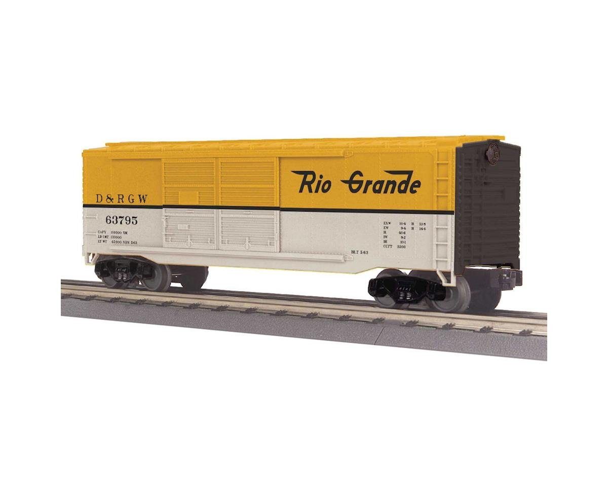 MTH Trains O-27 40' Double Door Box, D&RGW