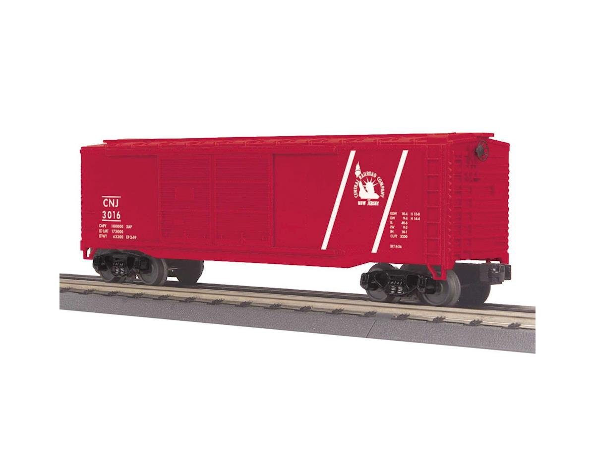 O-27 40' Double Door Box, CNJ by MTH Trains