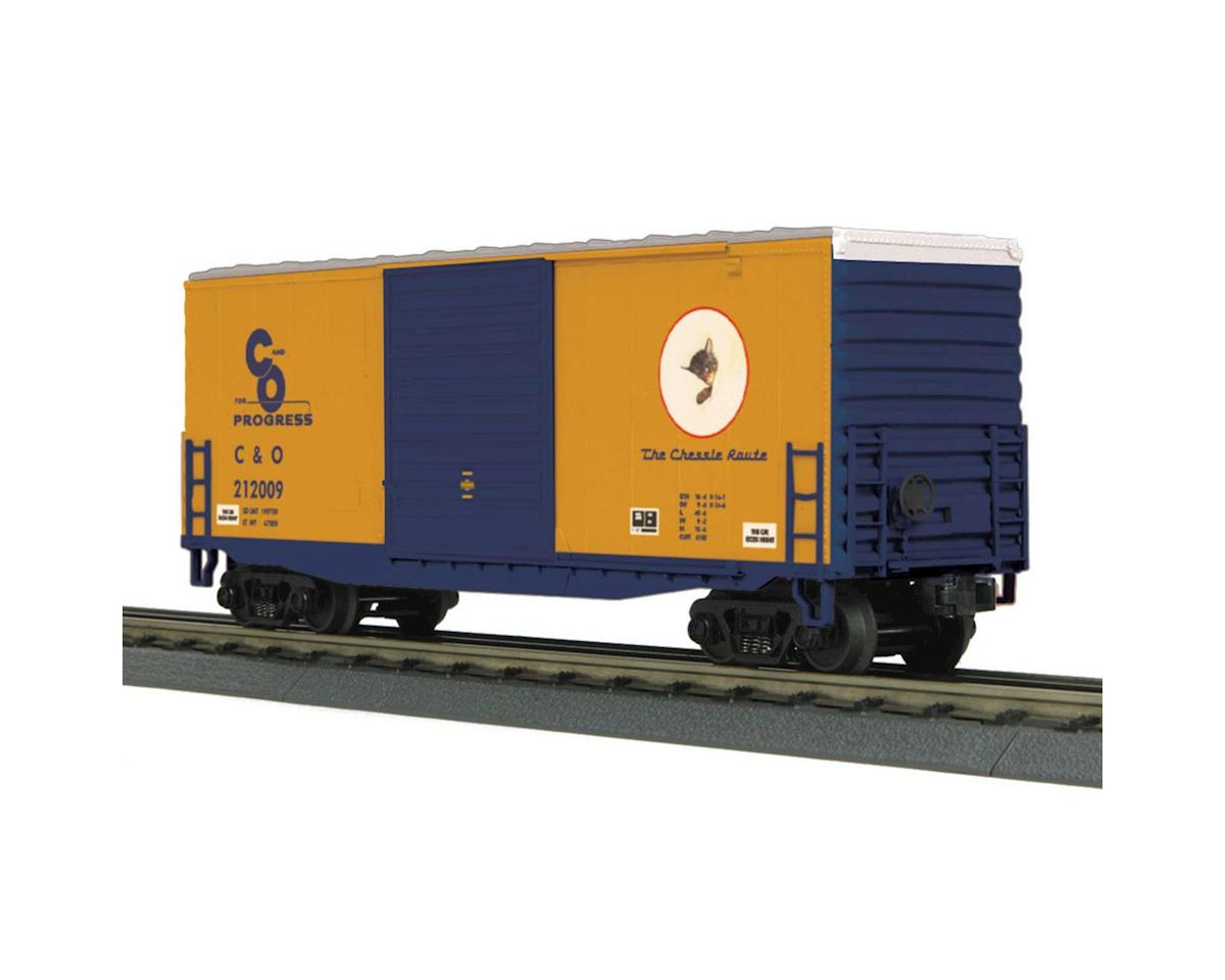 MTH Trains O-27 40' High Cube Box, C&O