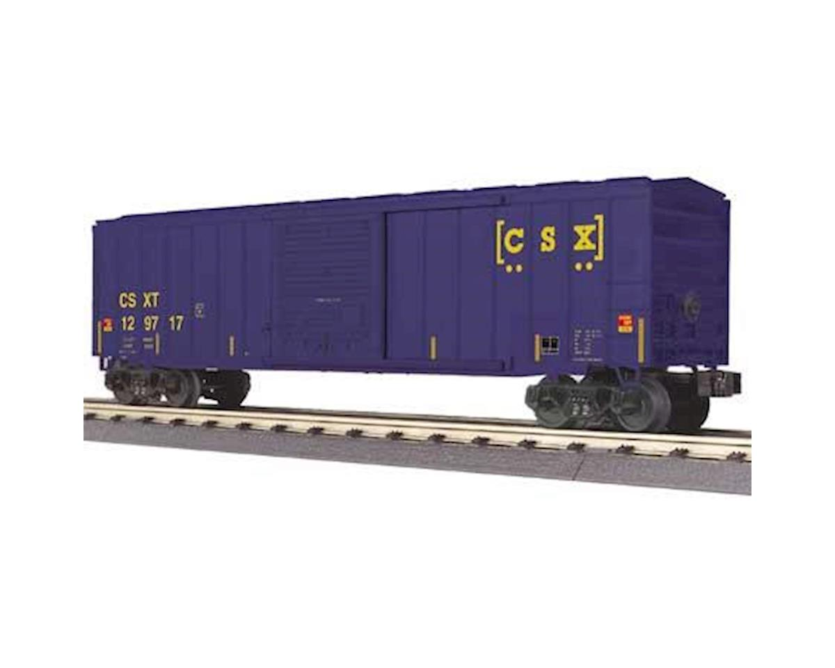 O-27 50' Modern Box, CSX by MTH Trains