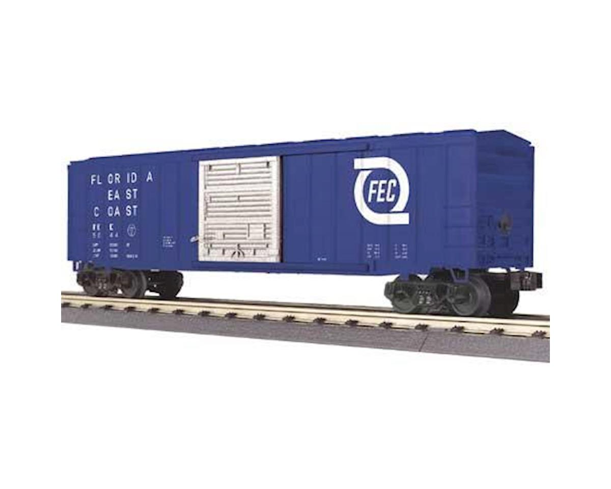 O-27 50' Modern Box, FEC by MTH Trains