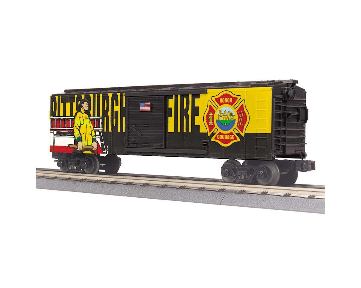 MTH Trains O-27 Box, Pittsburgh Fire & Rescue