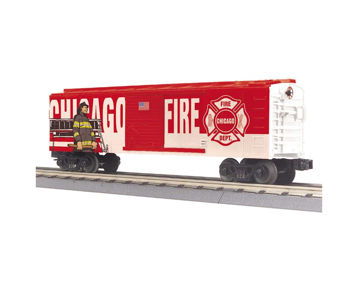 MTH Trains O-27 Box, Chicago Fire Department