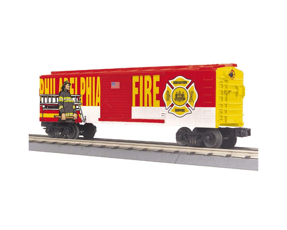 MTH Trains O-27 Box, Philadephia Fire Department
