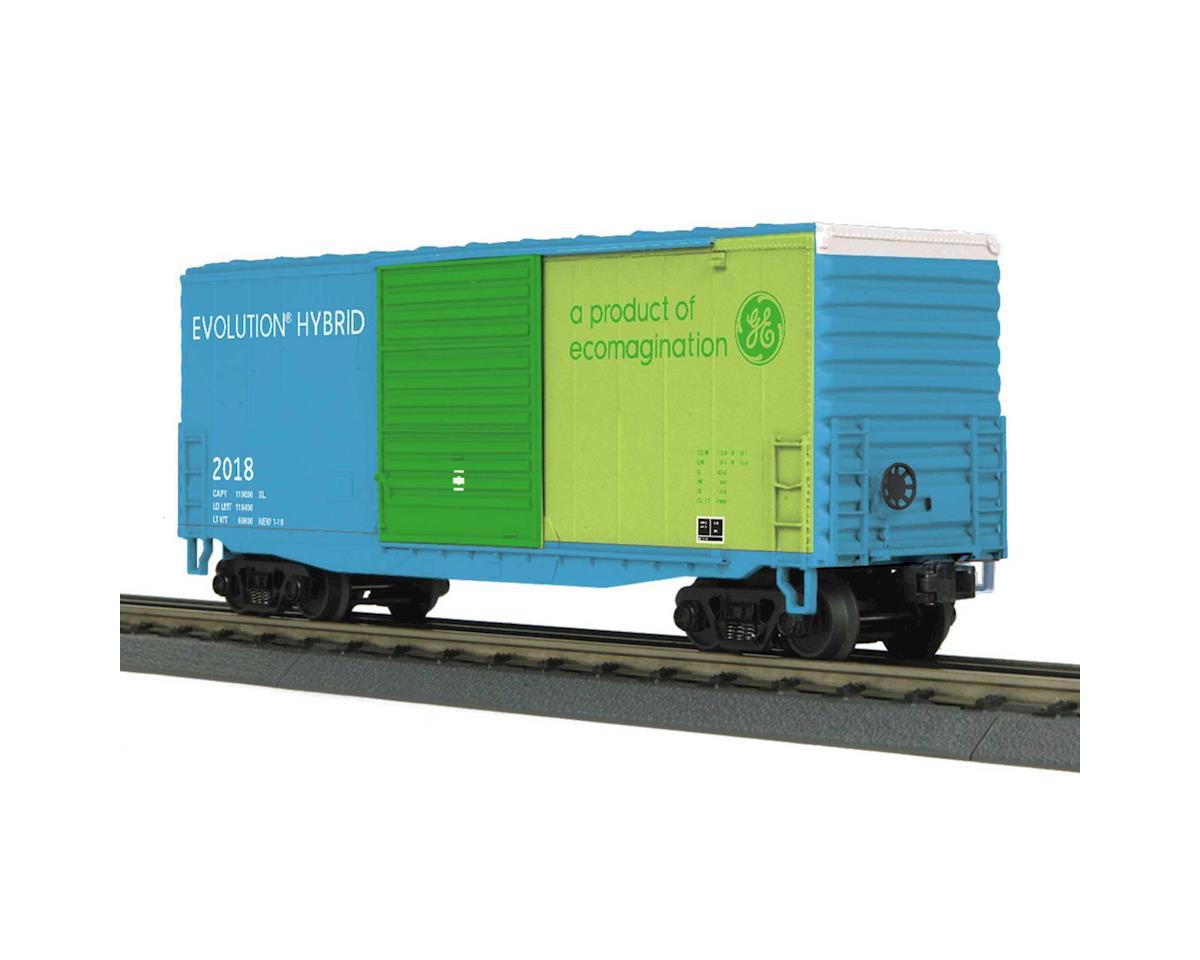 MTH Trains O-27 40' HC Box, GEVO #2018