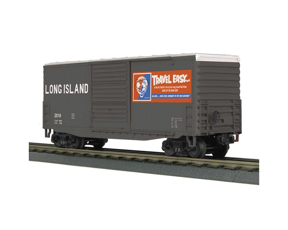 MTH Trains O-27 40' High Cube Box, LIRR #2018