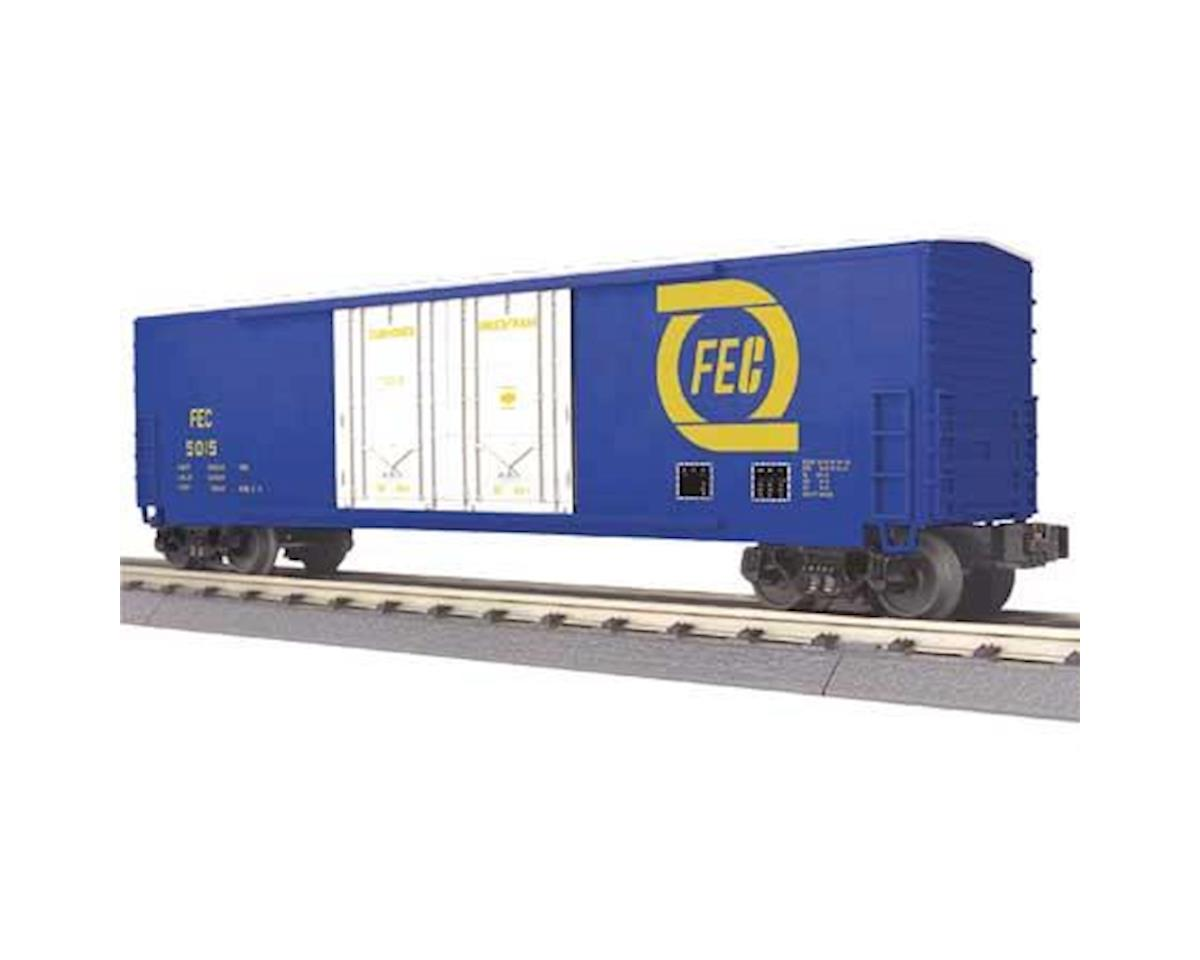 MTH Trains O-27 50' Double Door Plug Box, FEC #5015
