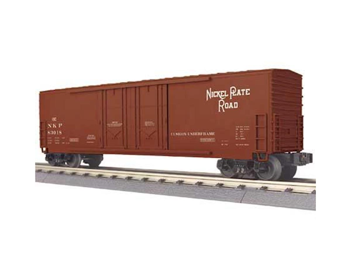 MTH Trains O-27 50' Double Door Plug Box, NKP #83018