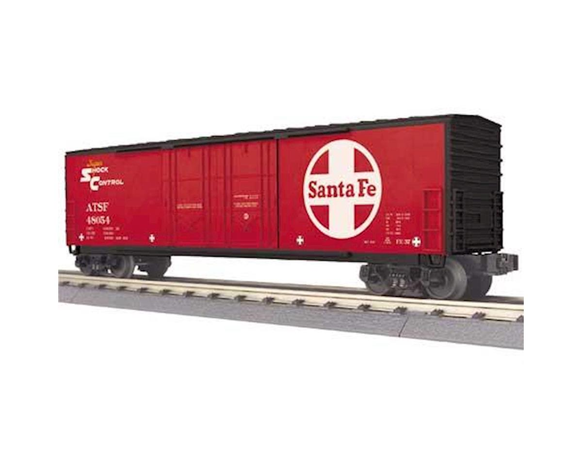 MTH Trains O-27 50' Double Door Plug Box, SF #48054