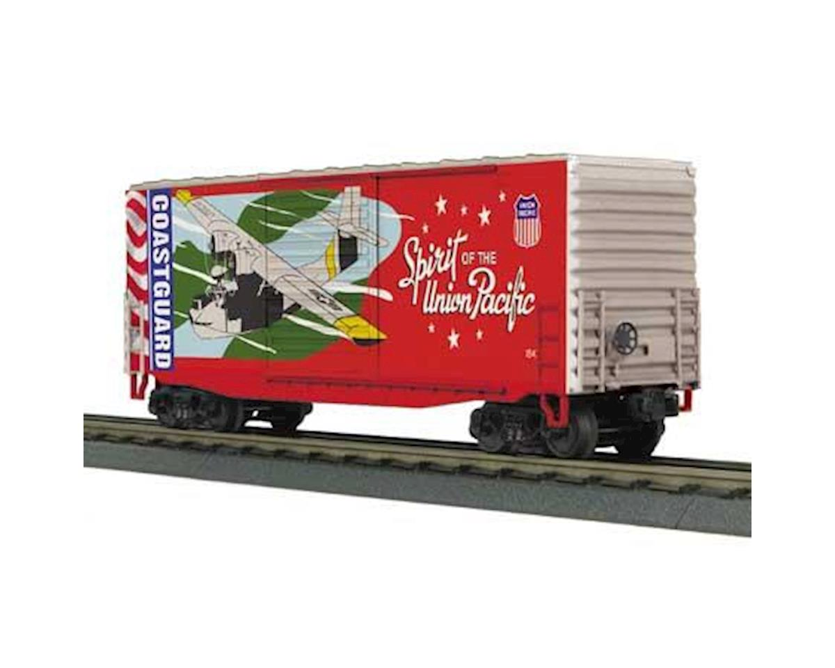 MTH Trains O-27 40' High Cube Box, US Coast Guard