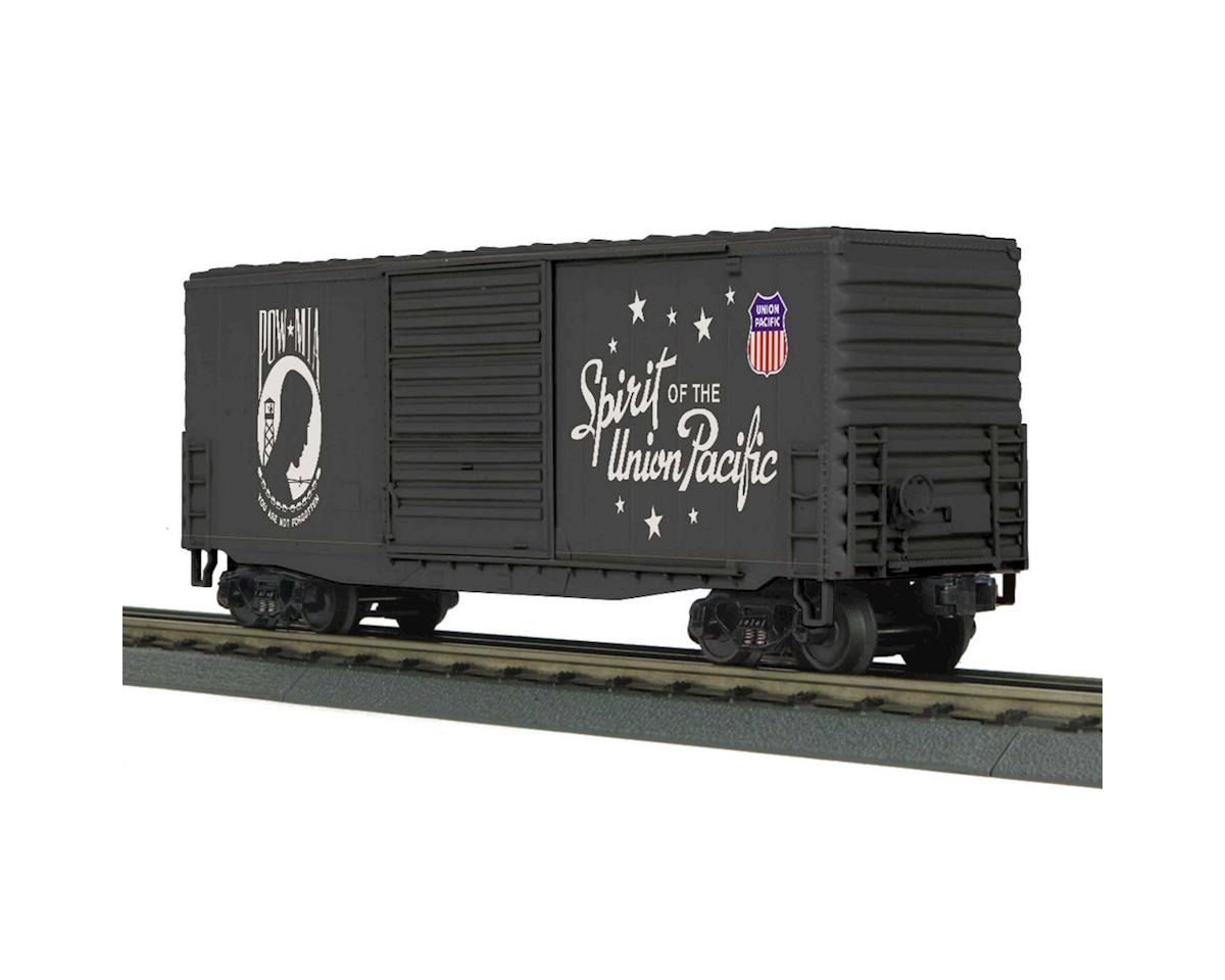 MTH Trains O-27 40' High Cube Box, POW/MIA