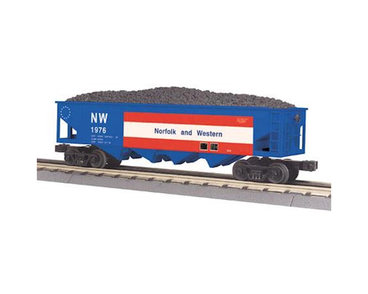 MTH Trains O-27 4-Bay Hopper, N&W