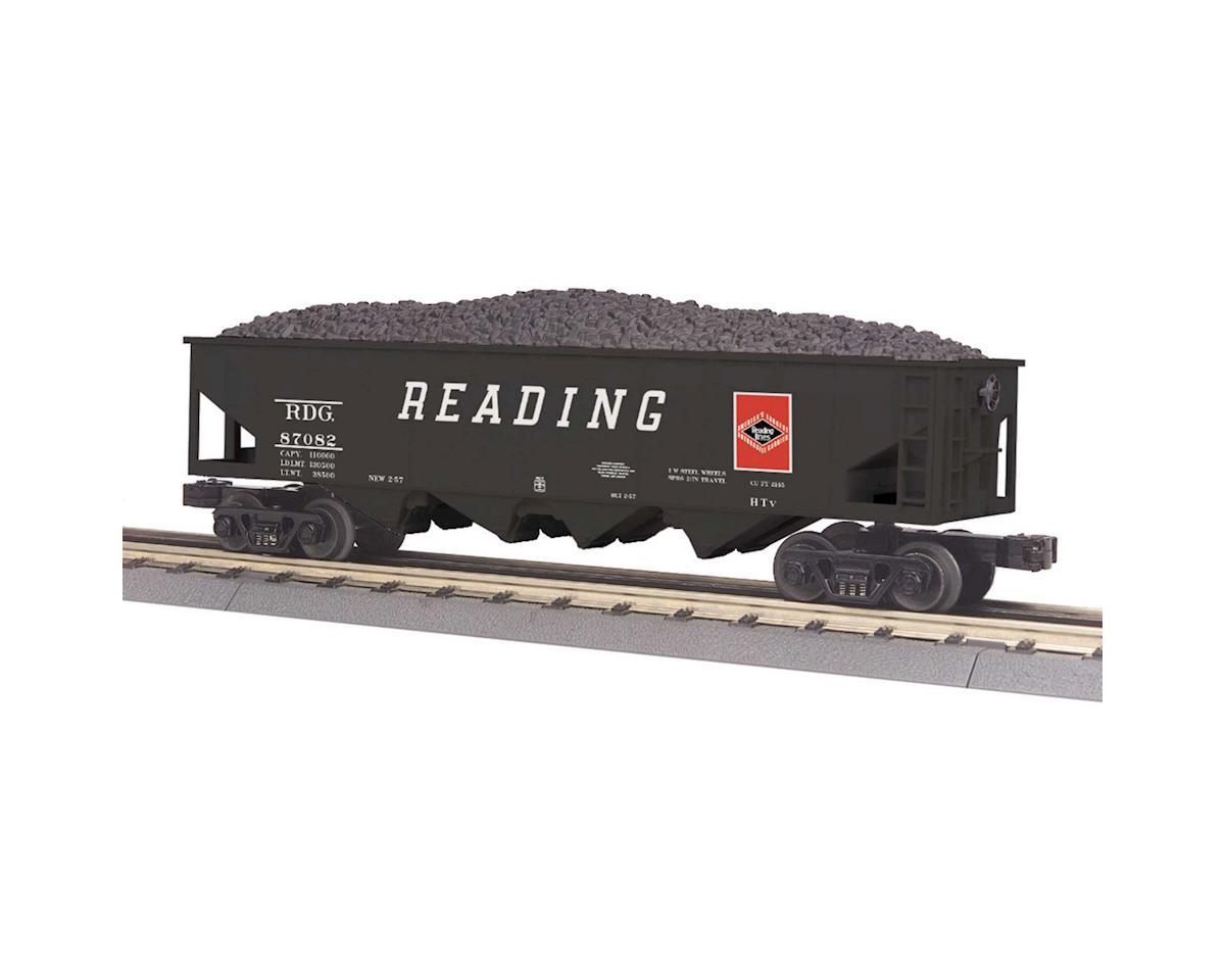 MTH Trains O-27 4-Bay Hopper, RDG