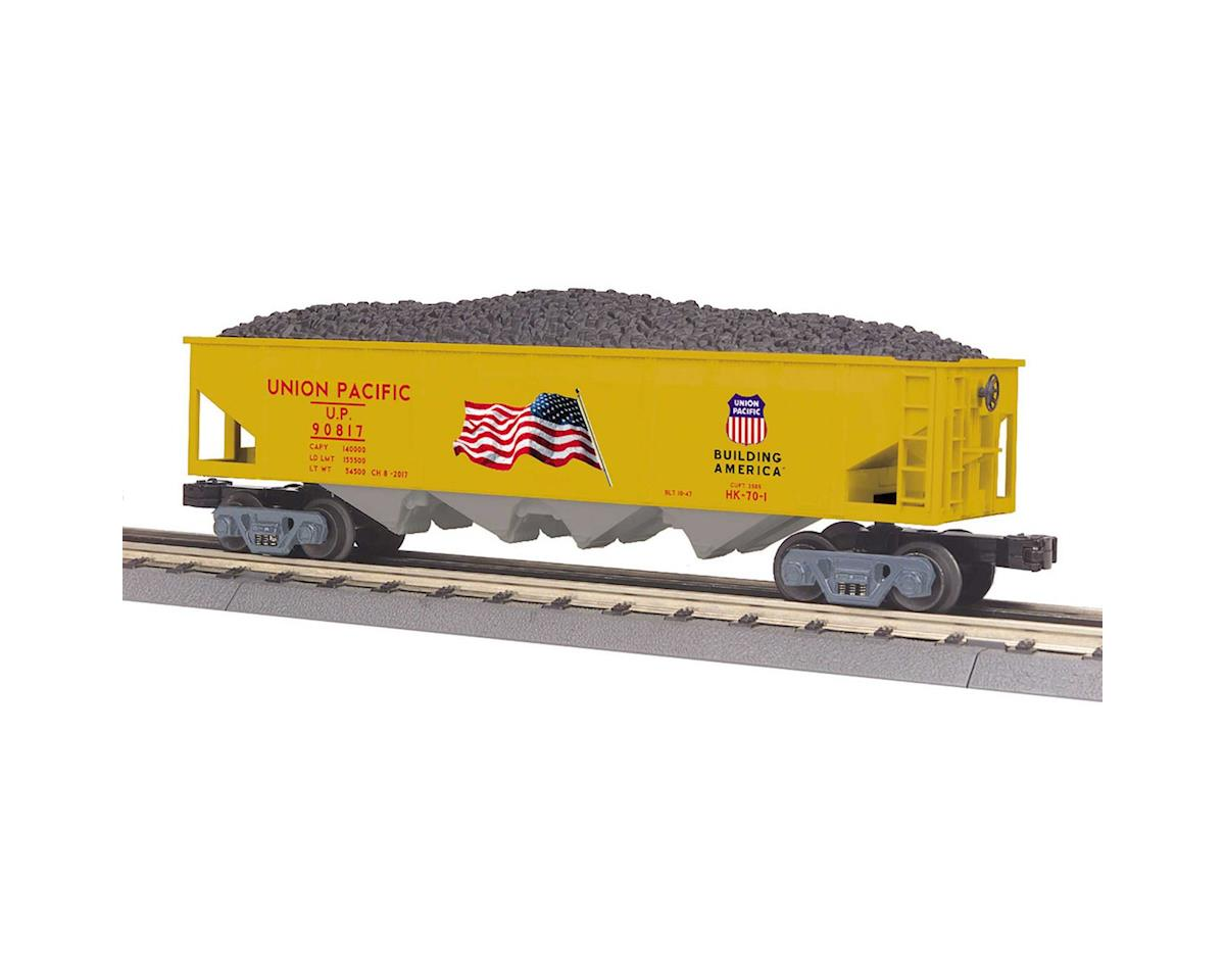 O-27 4-Bay Hopper, UP by MTH Trains