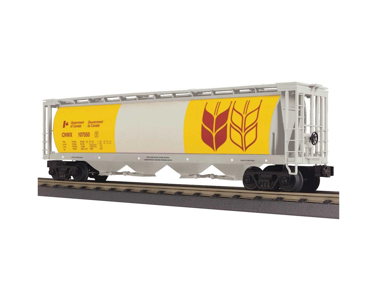 MTH Trains O-27 4-Bay Cylindrival Hopper, Canadian Wheat #1