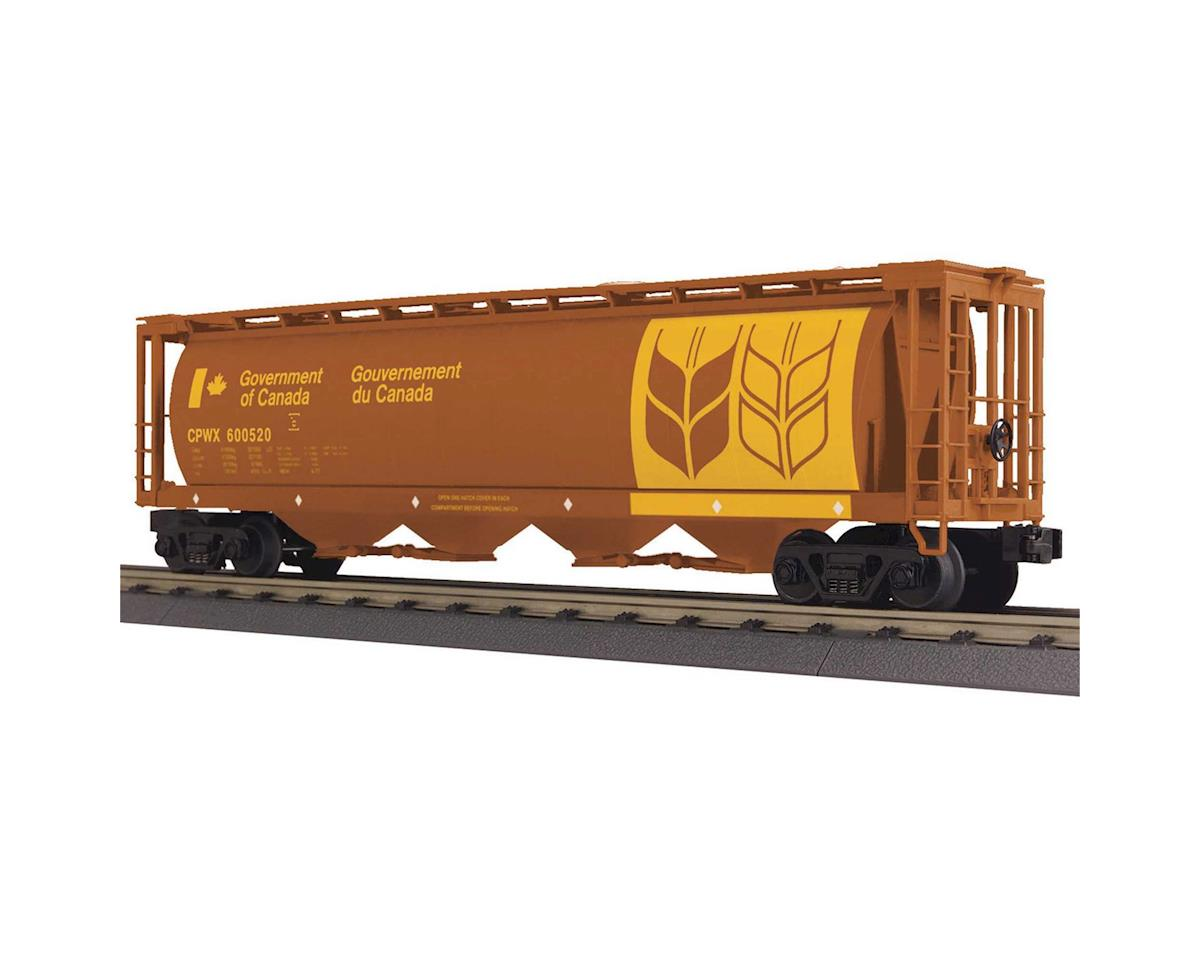 MTH Trains O-27 4-Bay Cylindrival Hopper, Canadian Wheat #2