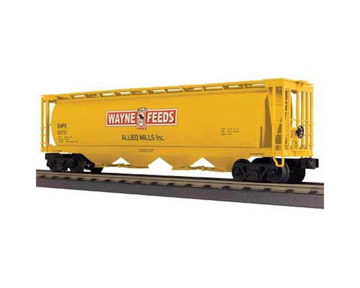MTH Trains O-27 4-Bay Cylindrical Hopper, Allied Mills
