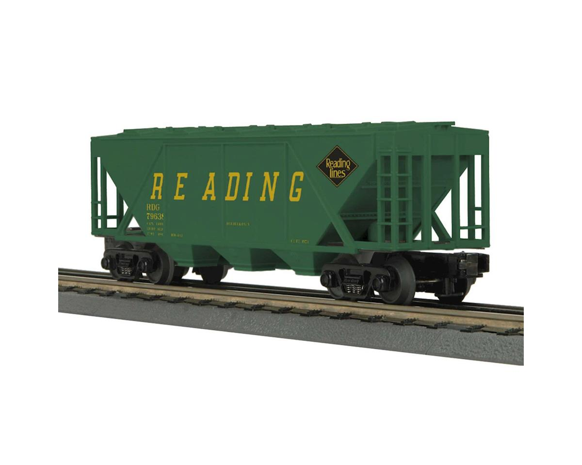 O-27 H30A 3-Bay Covered Hopper, RDG by MTH Trains