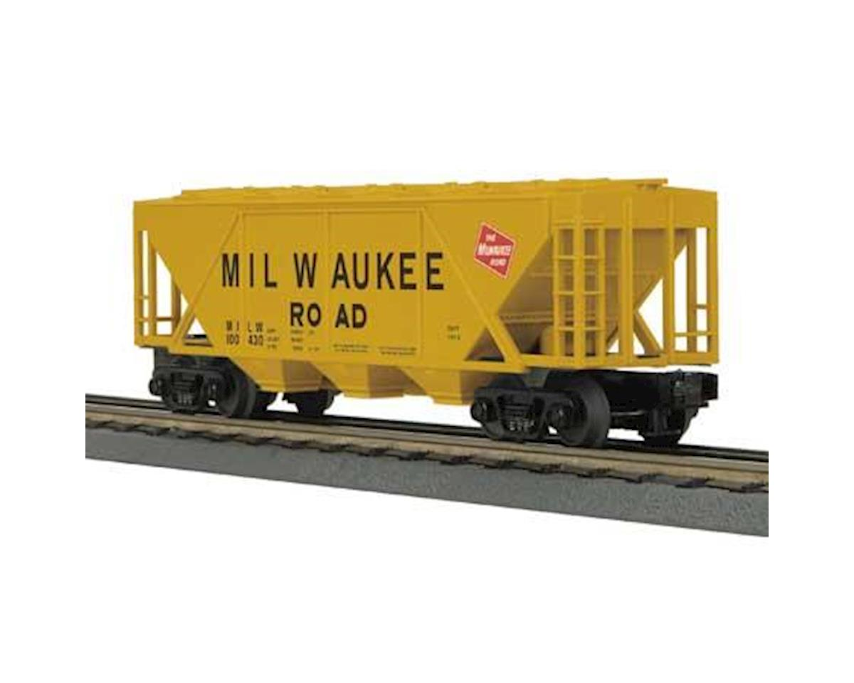 MTH Trains O-27 H30A 3-Bay Covered Hopper, MILW