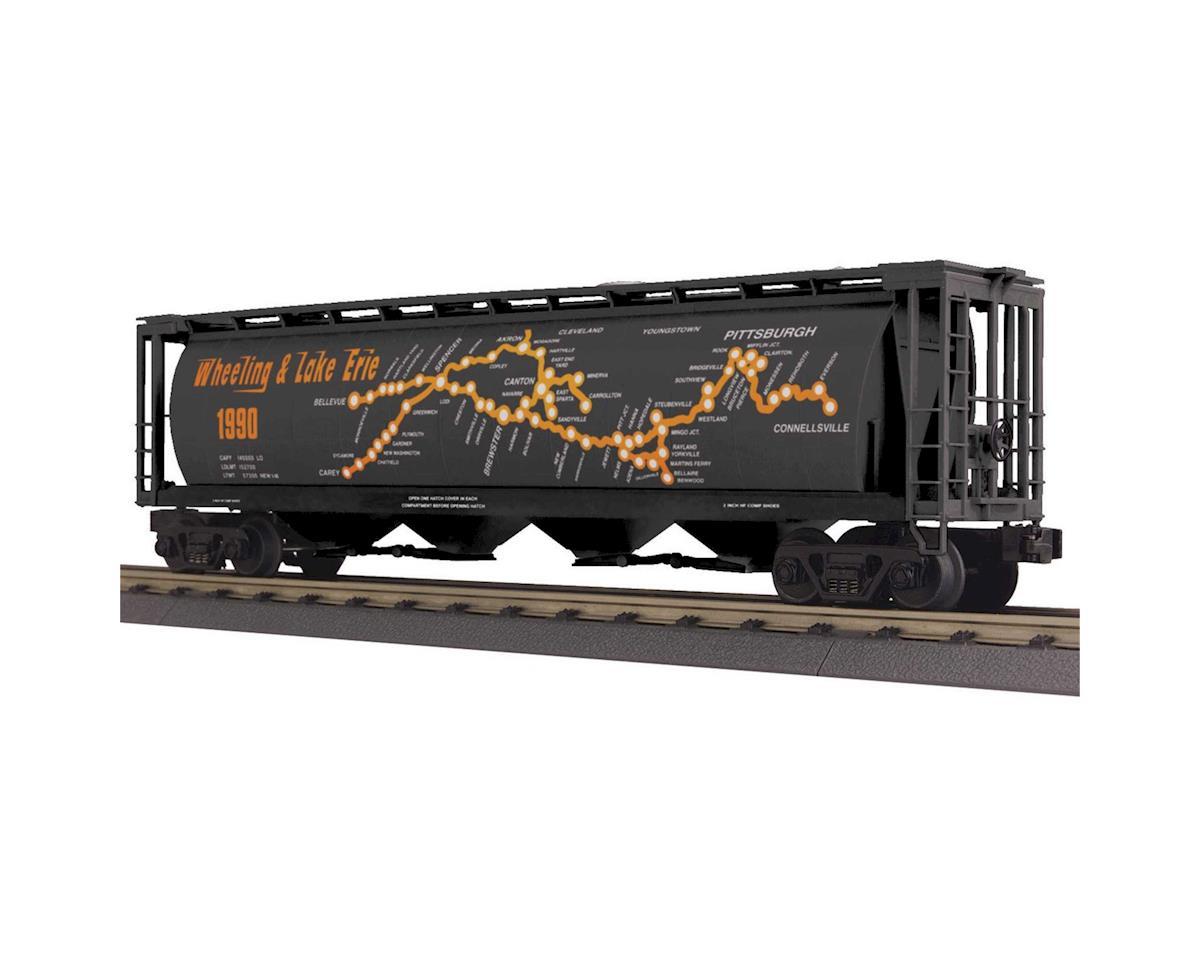 MTH Trains O-27 4-Bay Cylindrical Hopper, W&LE #1990