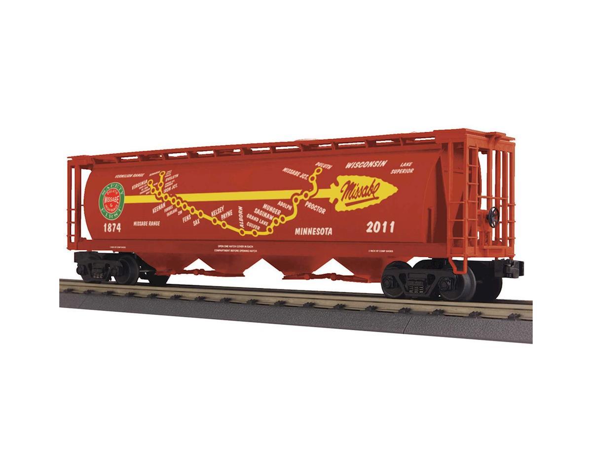 MTH Trains O-27 4-Bay Cylindrical Hopper, DM&IR
