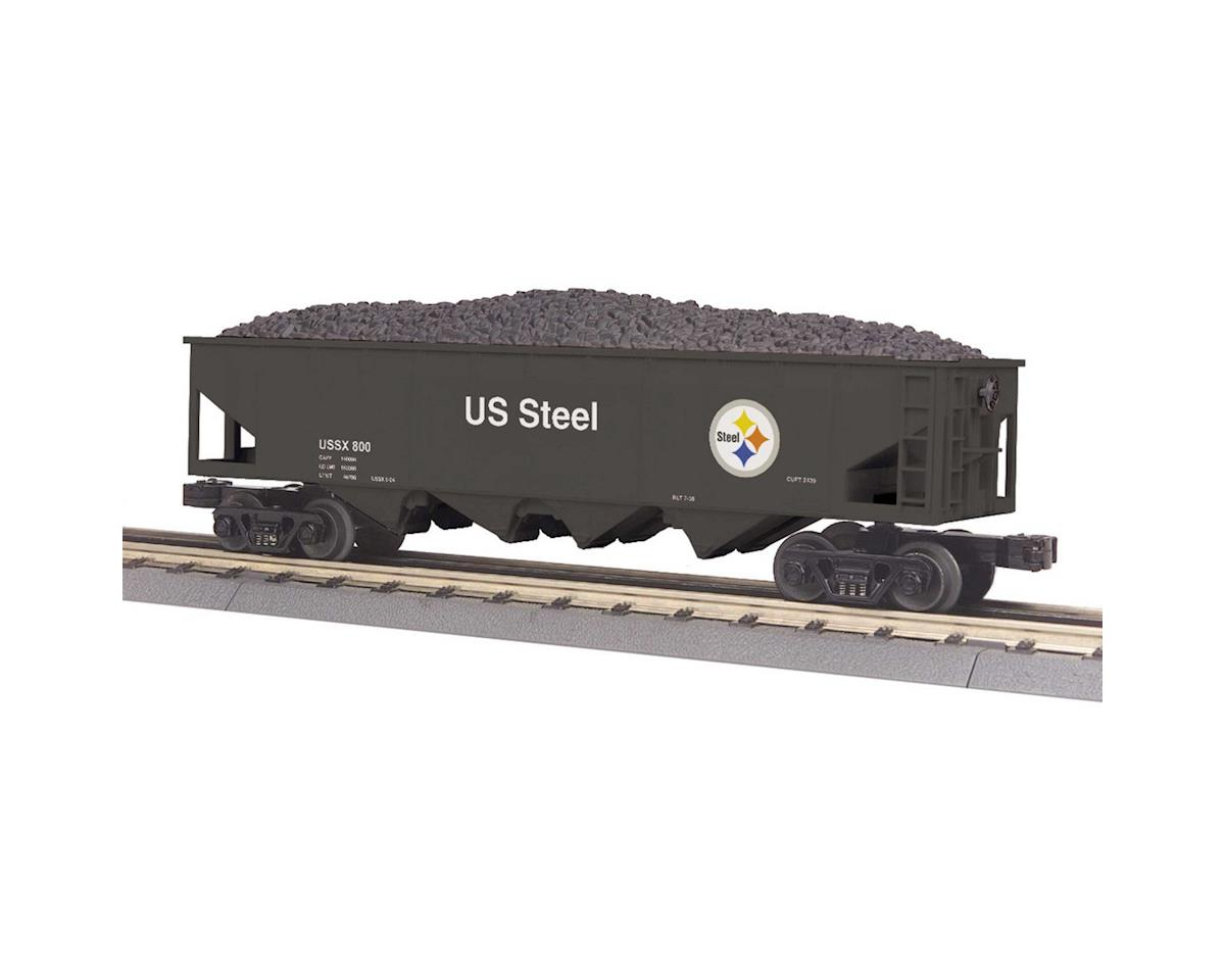 MTH Trains O-27 4-Bay Hopper, US Steel #800