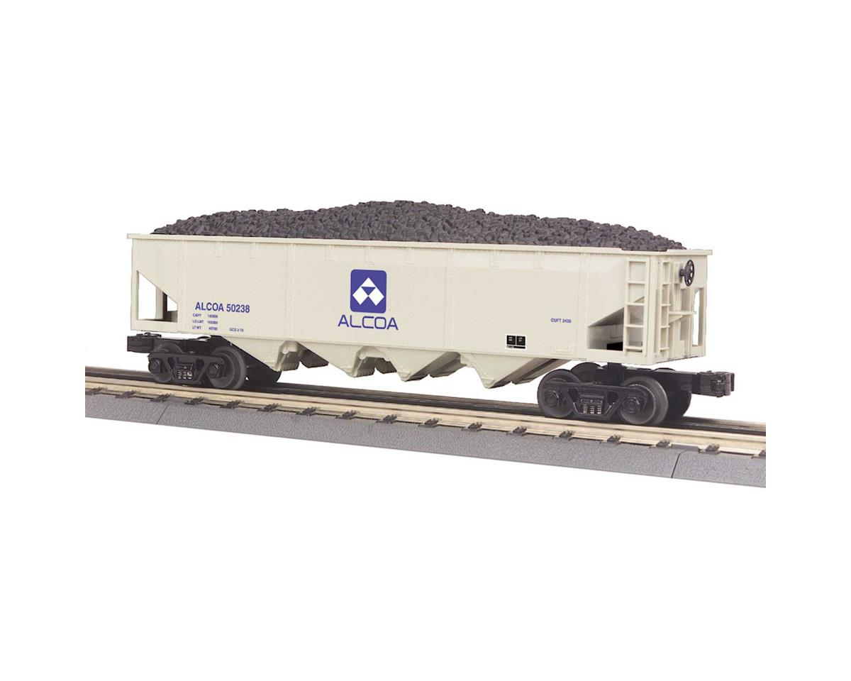MTH Trains O-27 4-Bay Hopper, Alcoa #50238