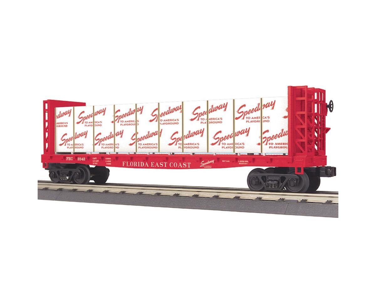 MTH Trains O-27 Bulkhead Flat w/Load, FEC