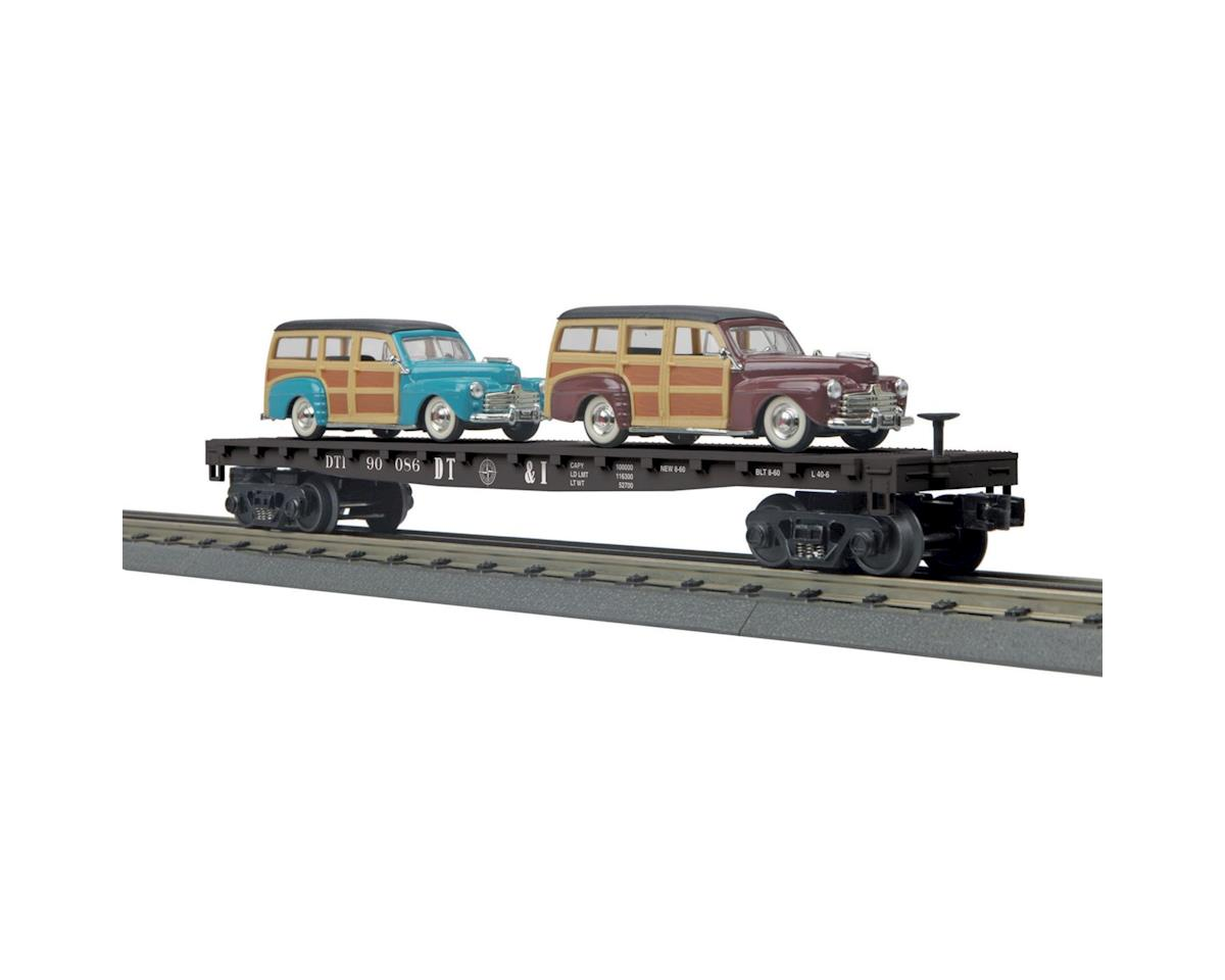 MTH Trains O-27 Fla wt/2 '48 Ford Woody, DT&I