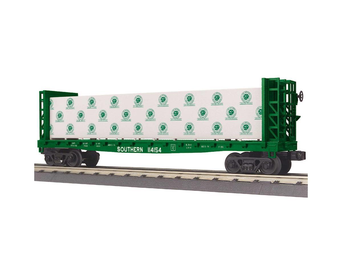 MTH Trains O-27 Bulkhead Flat w/Lumber Load, SOU