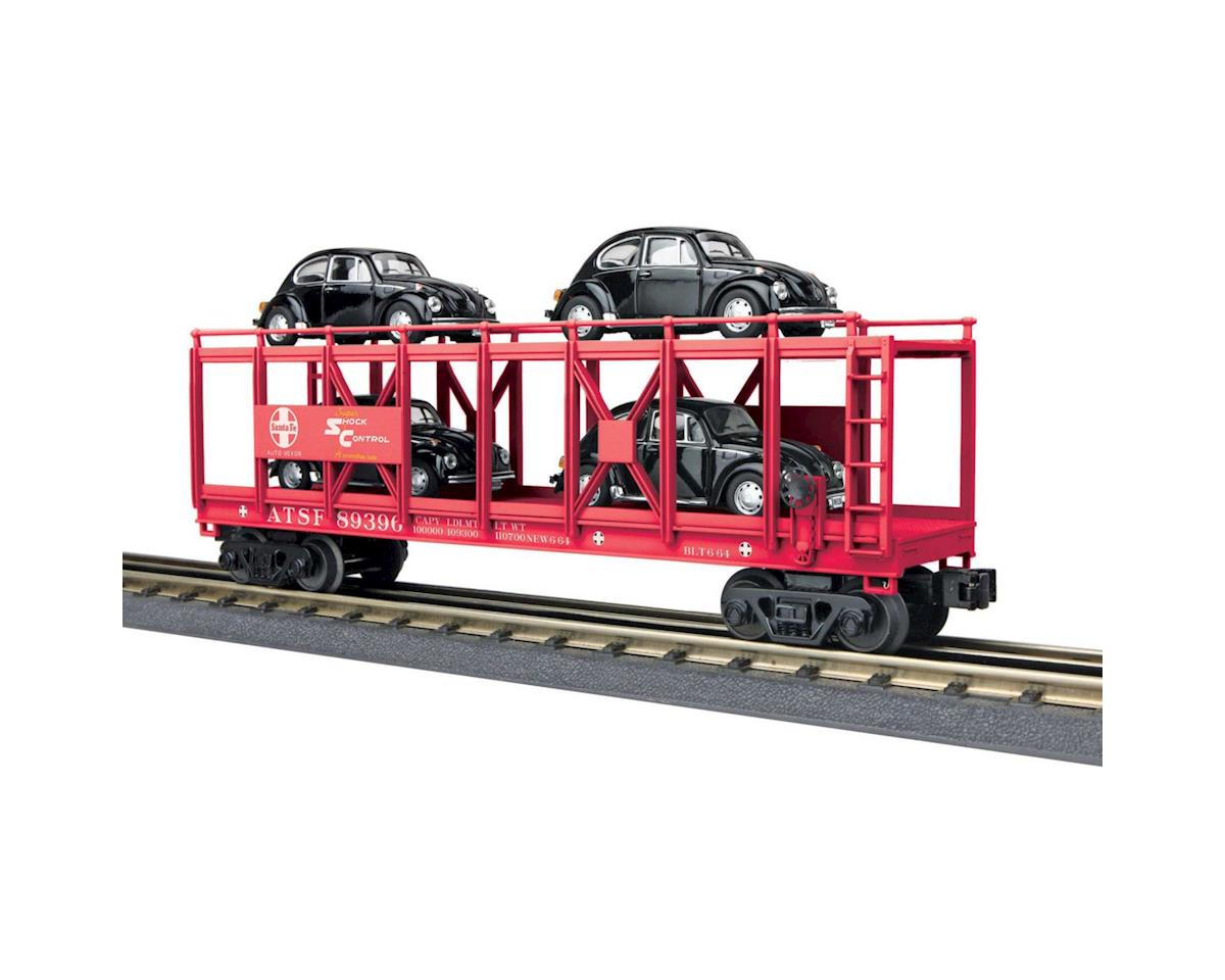 MTH Trains O-27 Auto Carrier Flat w/4 VW Beetles, SF