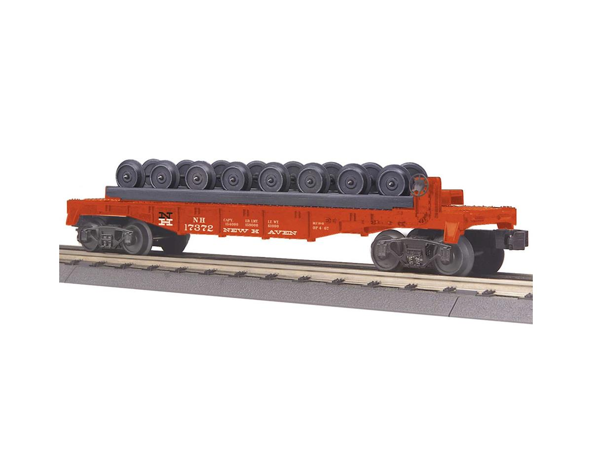 MTH Trains O-27 Flat w/Wheel Set, NH