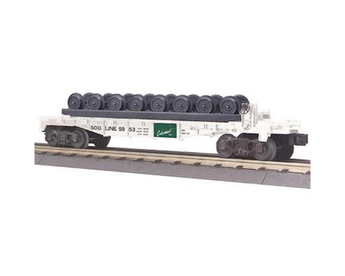 MTH Trains O-27 Flat w/Wheel Set, SOO