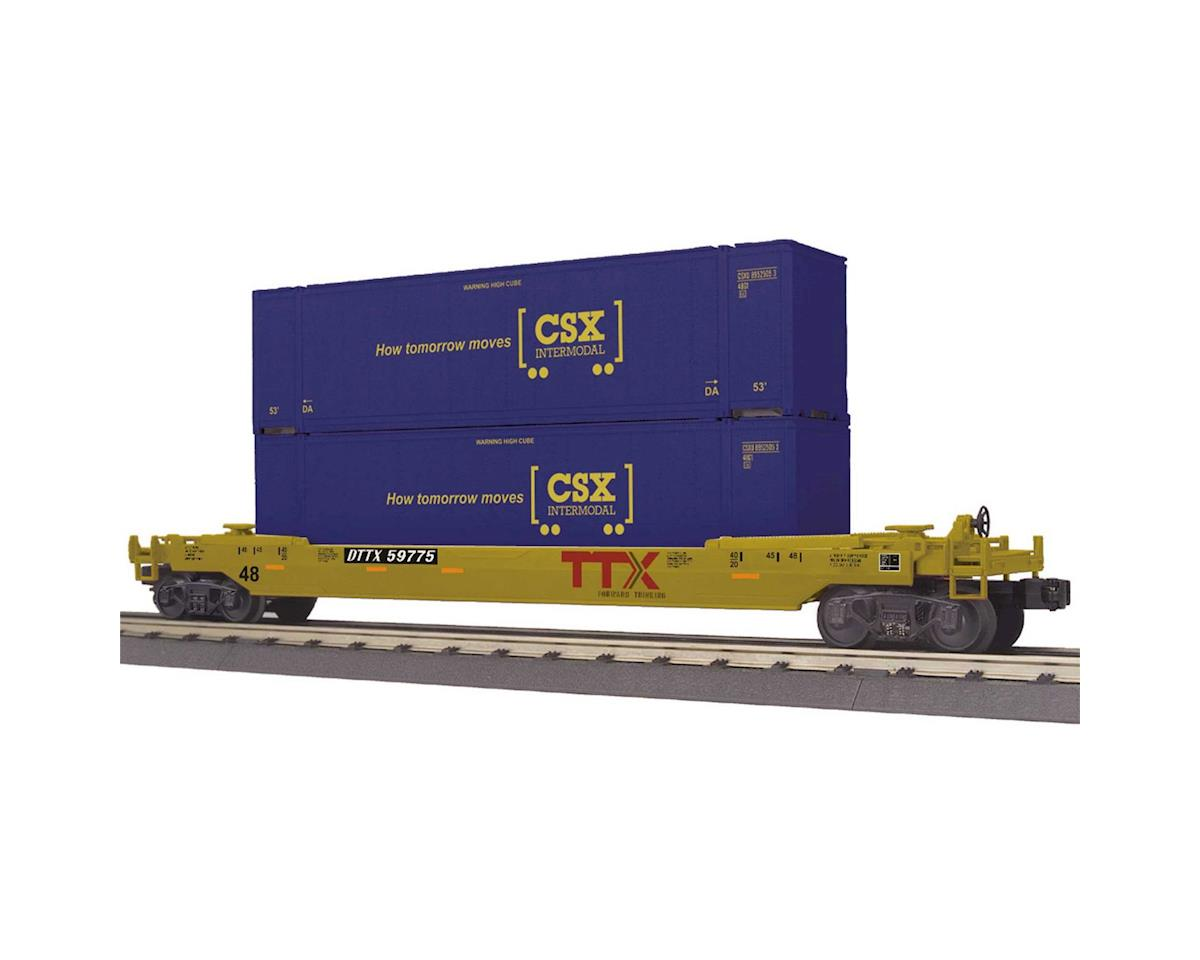 MTH Trains O-27 Husky Stack, CSX #59775