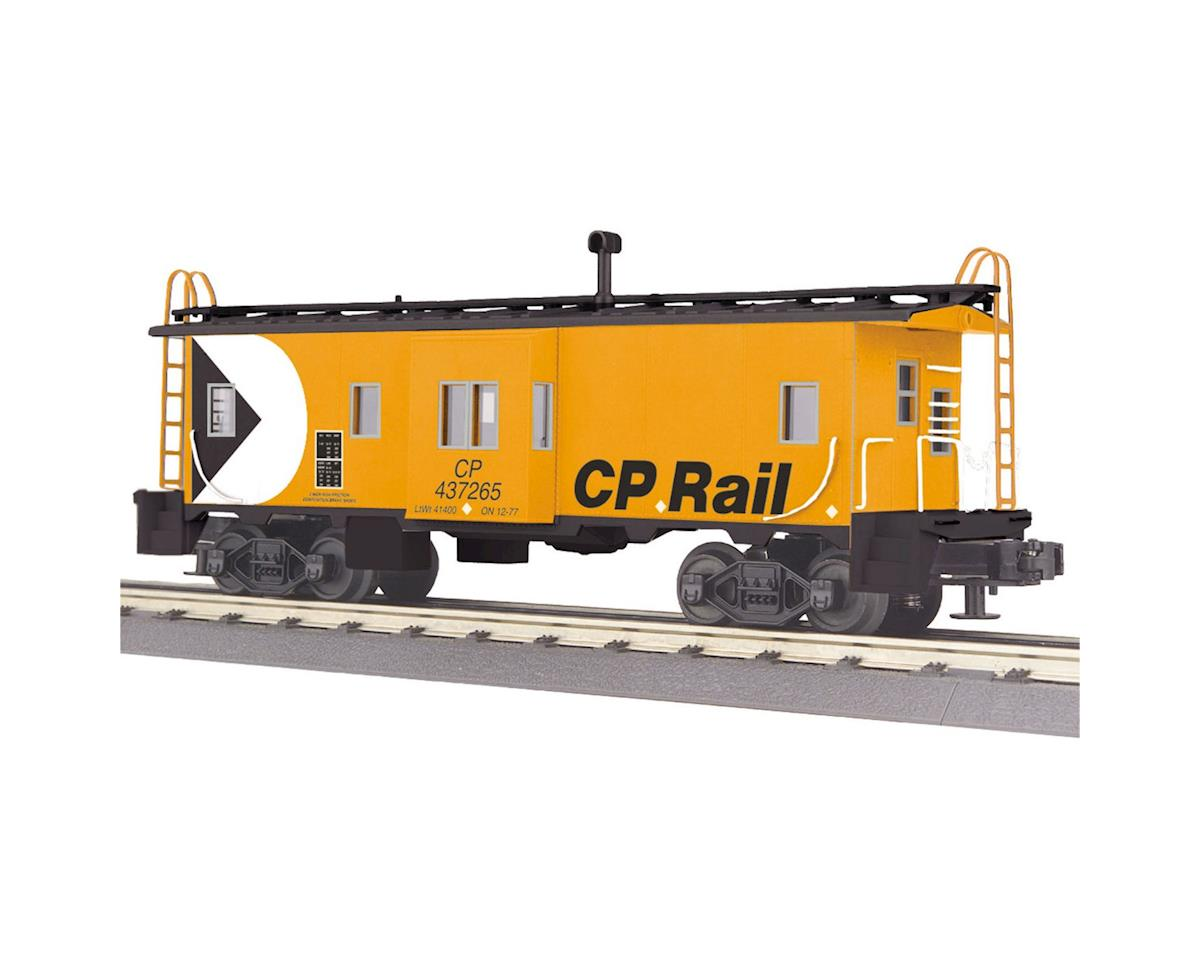 MTH Trains O-27 Bay Window Caboose, CPR
