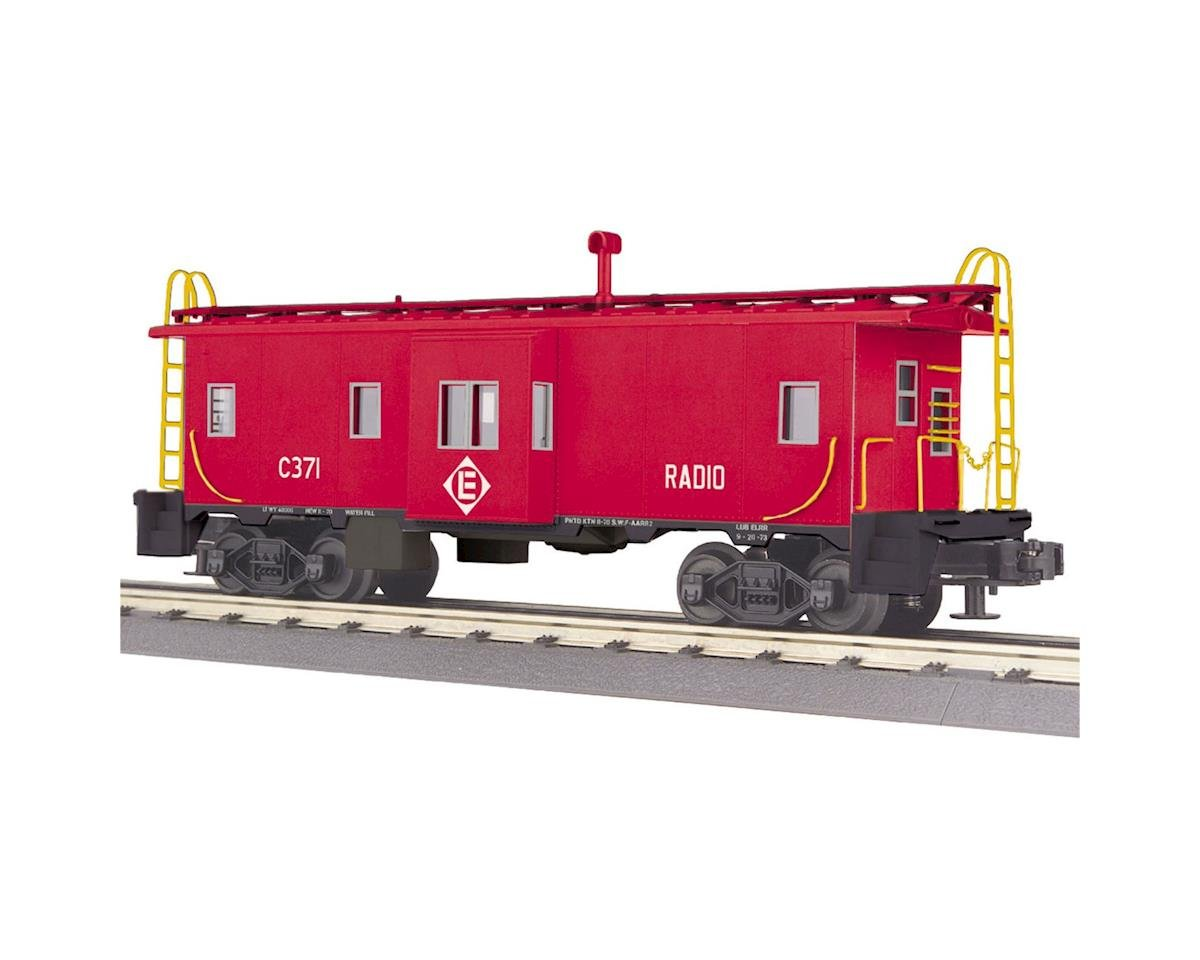 MTH Trains O-27 Bay Window Caboose, EL