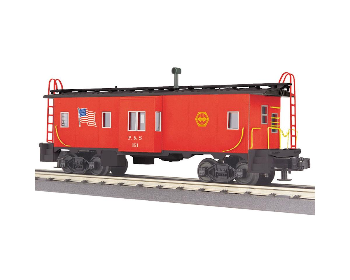 MTH Trains O-27 Bay Window Caboose, P&S