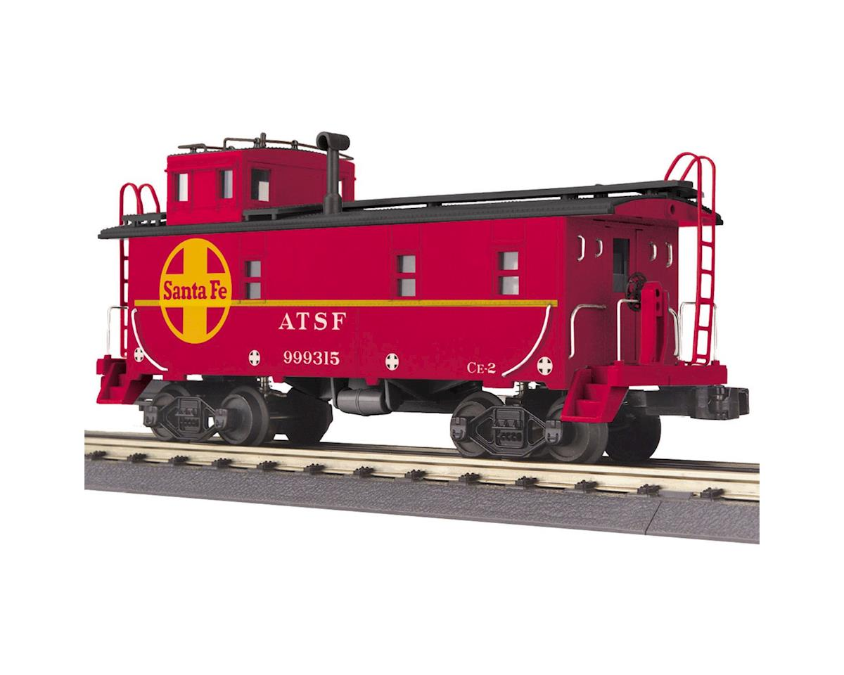 O-27 Offset Steel Caboose, SF by MTH Trains