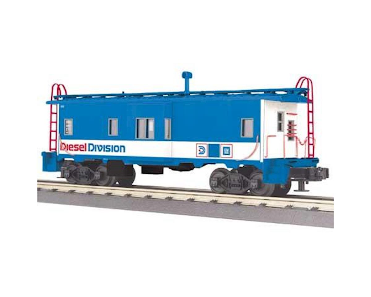 MTH Trains O-27 Bay Window Caboose, GM Diesel Division