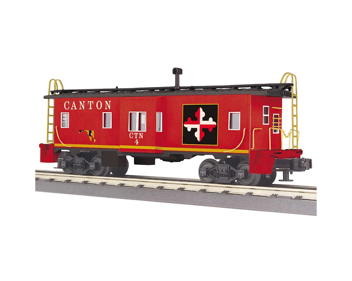 MTH Trains O-27 Bay Window Caboose, Canton