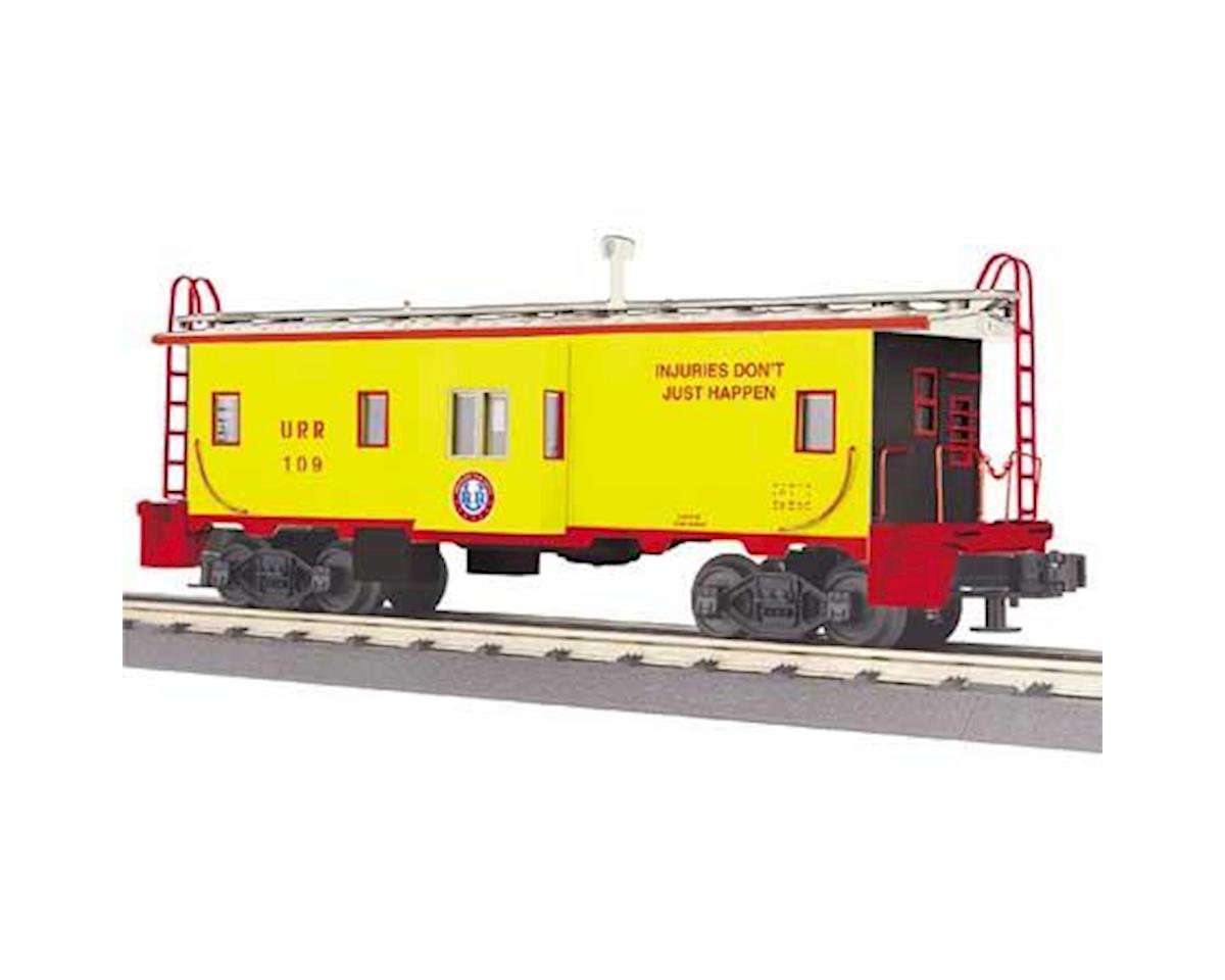 MTH Trains O-27 Bay Window Caboose, Union Railroad