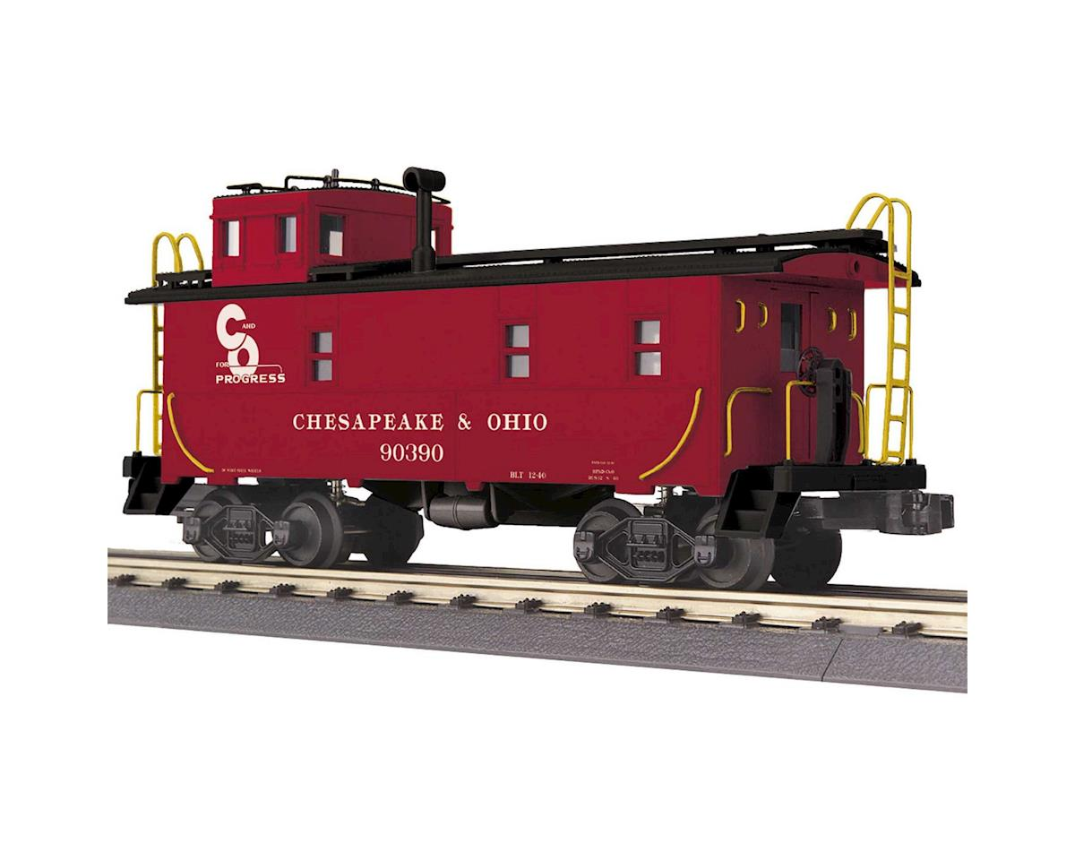 MTH Trains O-27 Offset Steel Caboose, C&O