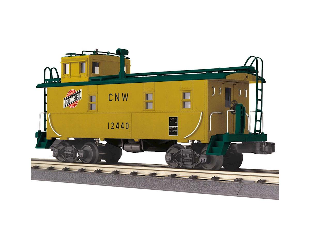 MTH Trains O-27 Offset Steel Caboose, C&NW