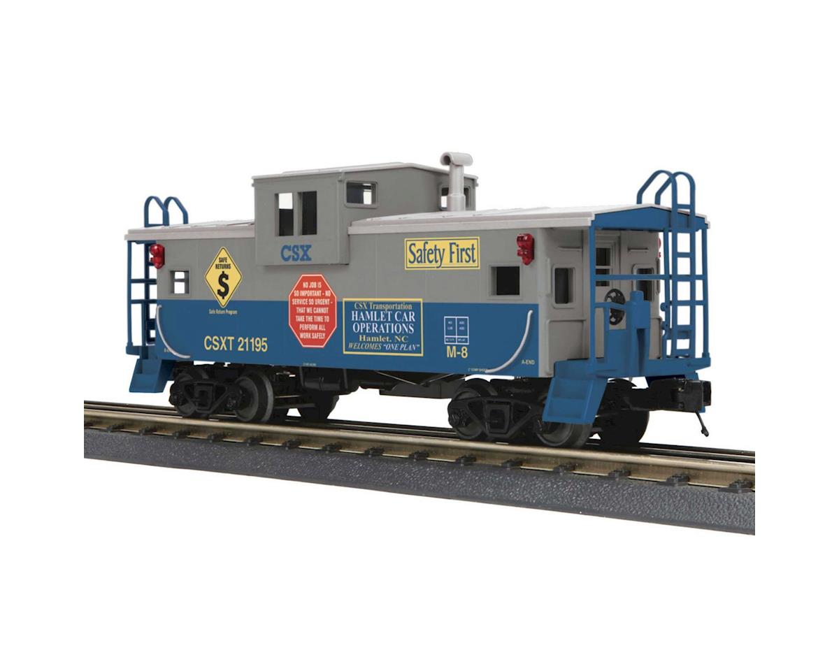 MTH Trains O-27 Extended Vision Caboose, CSX