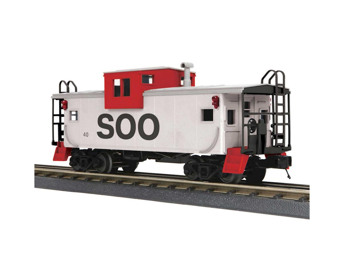 MTH Trains O-27 Extended Vision Caboose, SOO