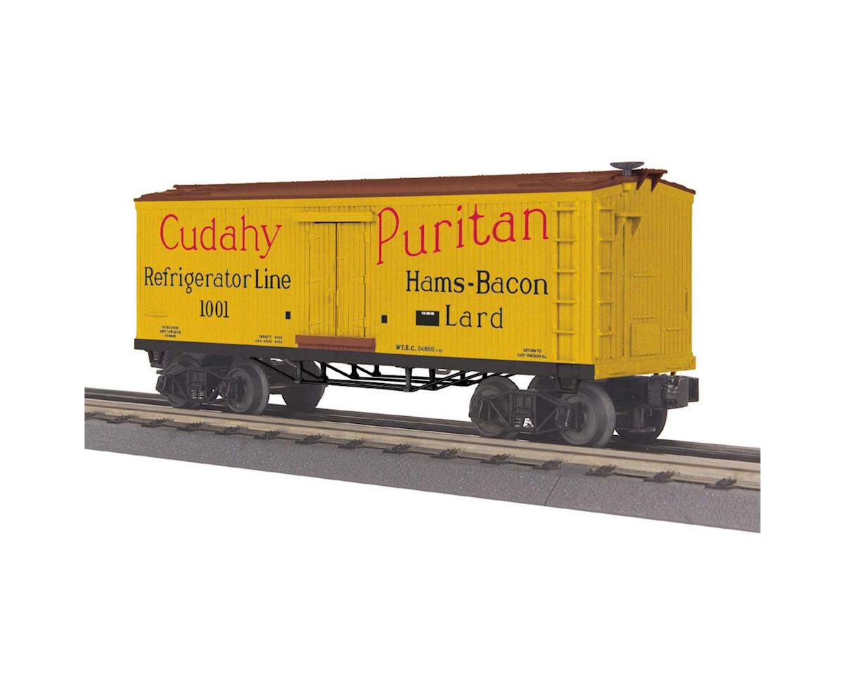 MTH Trains O-27 Old Time Reefer, Cudahy Refrigerator Line
