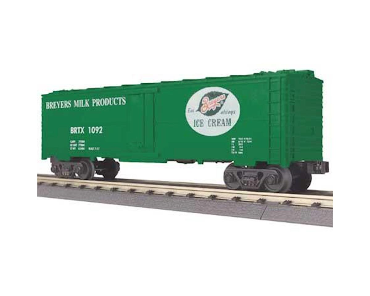 O-27 Modern Reefer, Breyers by MTH Trains